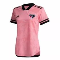 Thai Version Sao Paulo 2020 Women's Pink October Rosa Jersey