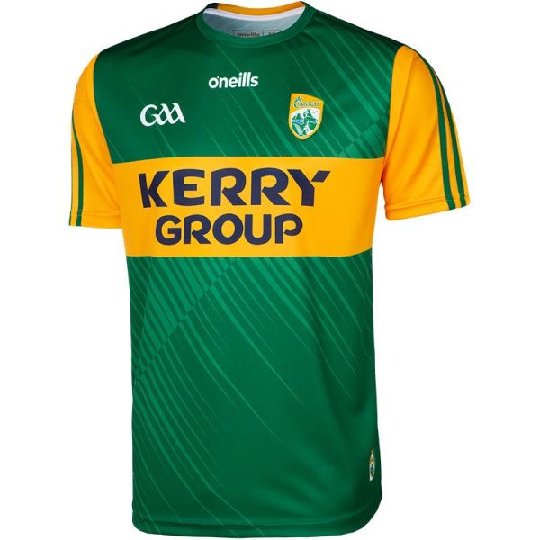 Kerry 2021 Men's Home 2 Stripe Rugby Jersey