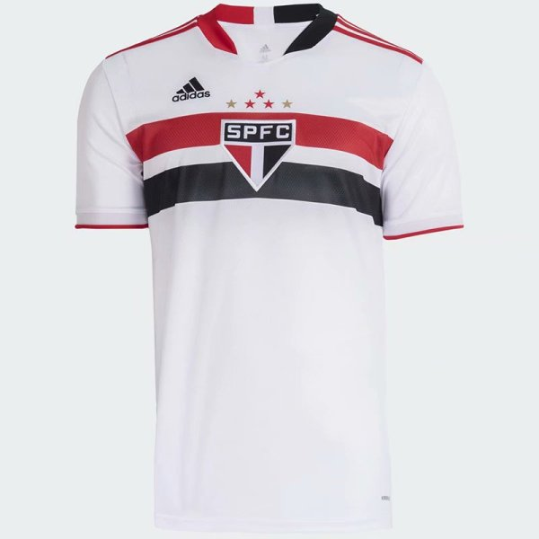 Thai Version Sao Paulo 2021 Home Soccer Jersey