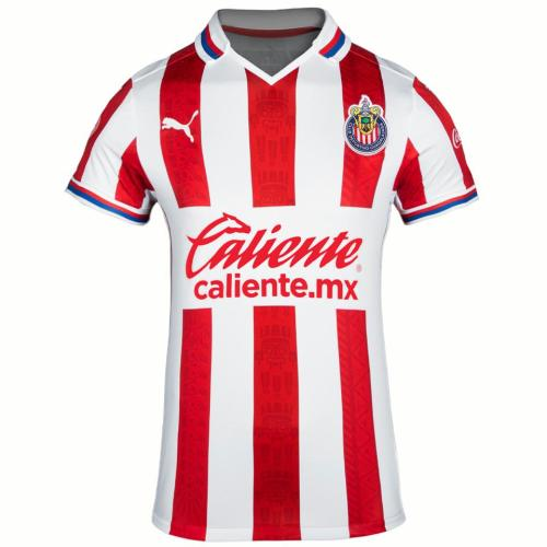 Thai Version Women's Chivas de Guadalajara 20/21 Home Soccer Jersey