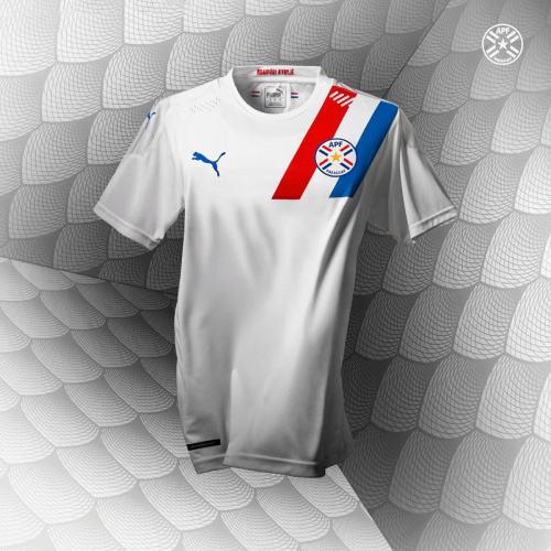 Thai Version Paraguay 20/21 Away Soccer Jersey