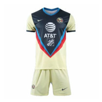 Club America 20/21 Home Soccer Jersey and Short Kit