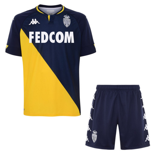 AS Monaco 20/21 Away Soccer Jersey And Short Kit