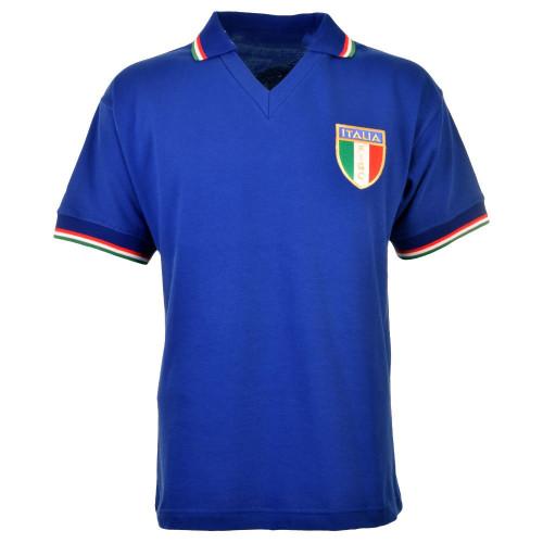 Italy 1982 Home Retro Soccer Jersey