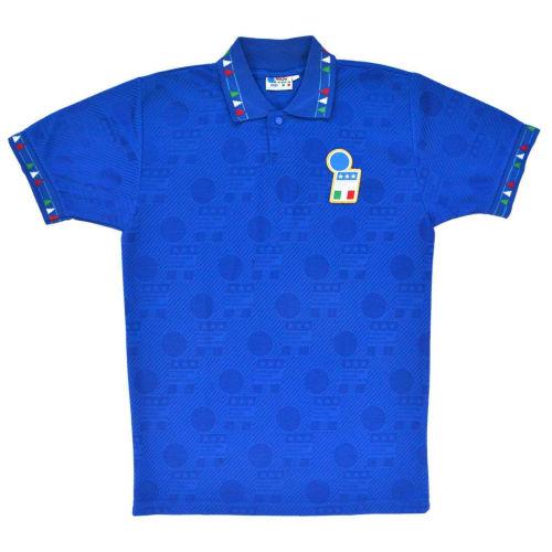 Italy 1994 Home Retro Soccer Jersey