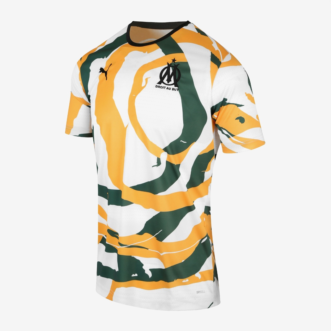 Thai Version Olympique Marseille 2021 'OM Africa' Collectors Jersey - White/Green/Yellow