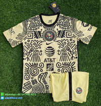 Club America 21/22 Fourth Soccer Jersey and Short Kit