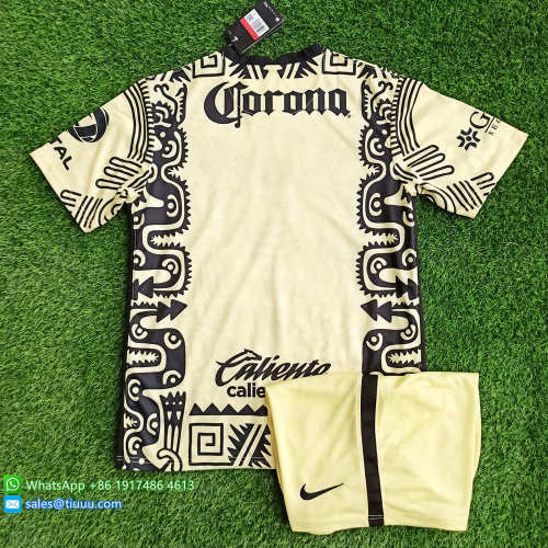 Club America 20/21 Fourth Soccer Jersey and Short Kit