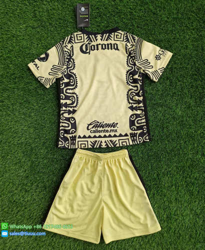 Club America 20/21 Kids Fourth Soccer Jersey and Short Kit