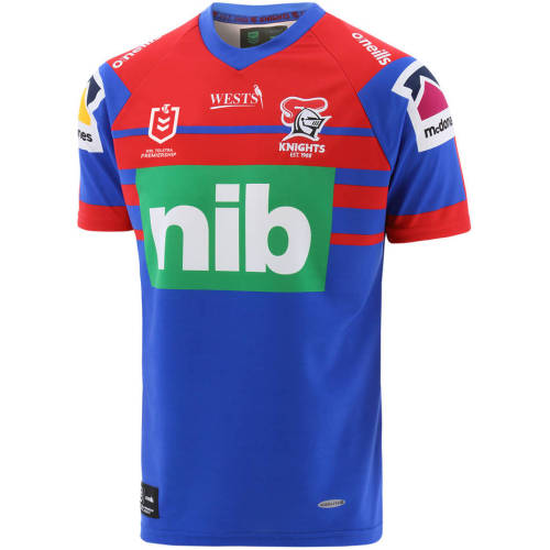 Newcastle Knights 2021 Men's Home Rugby Jersey
