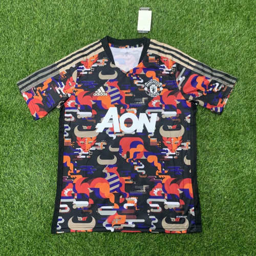 Thai Version Manchester United 2021 Chinese New Year Jersey