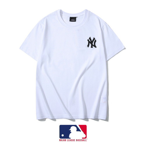 Sports Brand T-shirt Light Blue Embroidery 2021.3.13