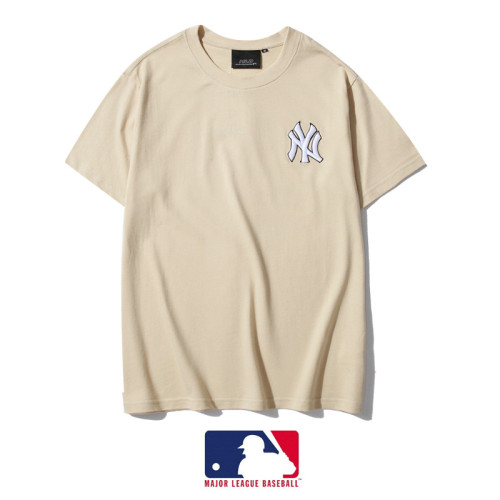 Sports Brand T-shirt Apricot Embroidery 2021.3.13