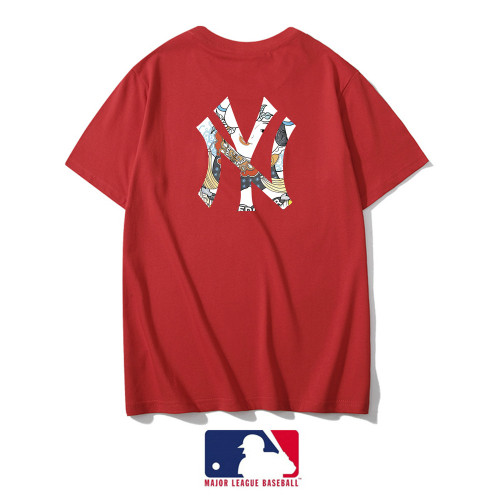 Sports Brand T-shirt Red Embroidery 2021.3.13