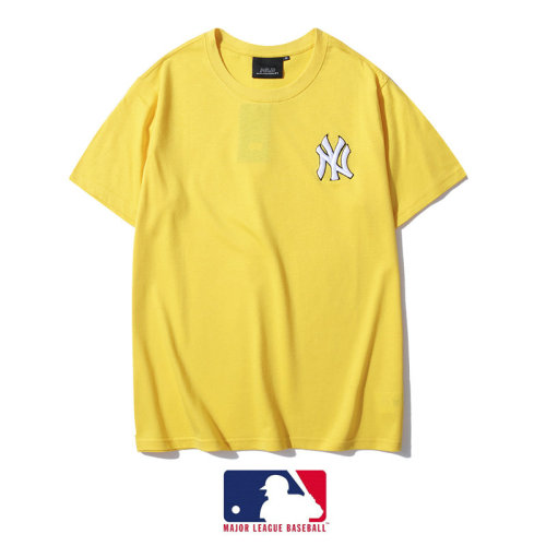 Sports Brand T-shirt yellow Embroidery 2021.3.13
