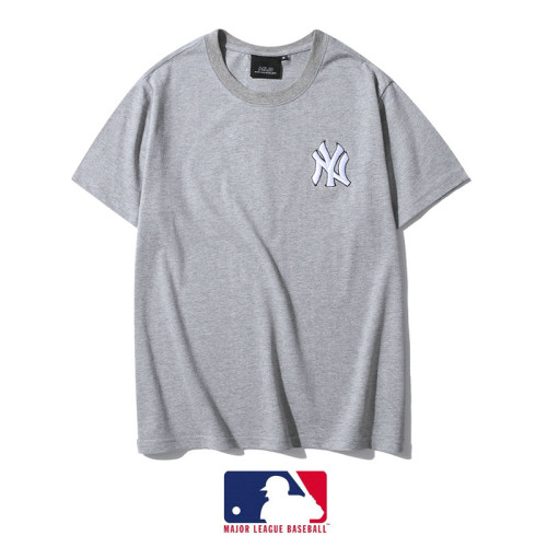 Sports Brand T-shirt Gray Embroidery 2021.3.13