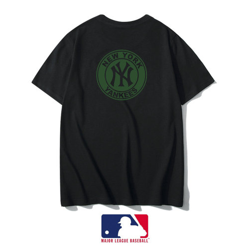 Sports Brand T-shirt Black Embroidery 2021.3.13