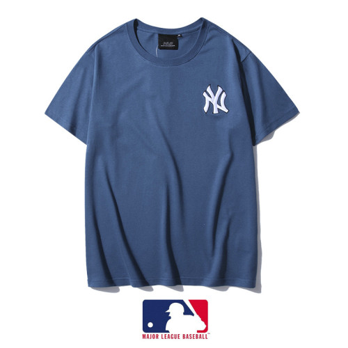 Sports Brand T-shirt Blue Embroidery 2021.3.13