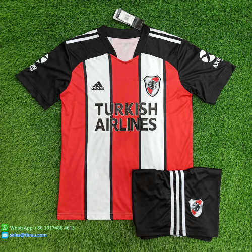 (Discount) River Plate 2021 Third Soccer Jersey and Short Kit