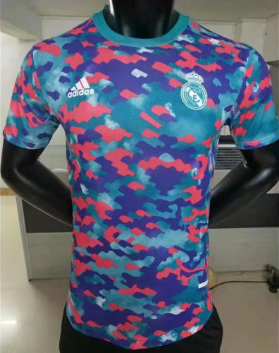 Player Version Real Madrid 21/22 Pre-Match Authentic Jersey