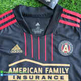 (Discount) Kids Atlanta United FC 2021 Home Soccer Jersey and Short Kit