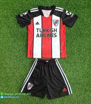 Kids River Plate 2021 Third Soccer Jersey and Short Kit
