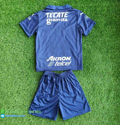 Kids Chivas de Guadalajara 2021 Third Soccer Jersey and Short Kit