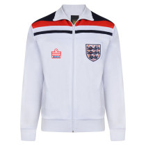England 1982 Empire White Retro Track Jacket