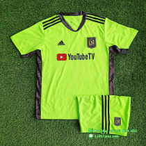 Los Angeles FC 2021 Goalkeeper Jersey and Short Kit