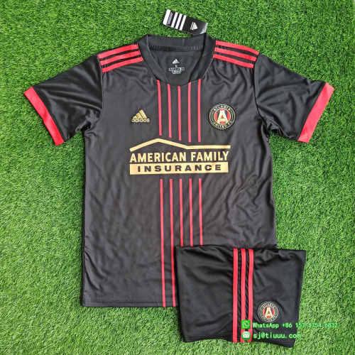 Atlanta United FC 2021 Home Soccer Jersey and Short Kit