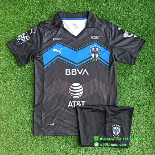 Monterrey 2021 Third Soccer Jersey and Short Kit