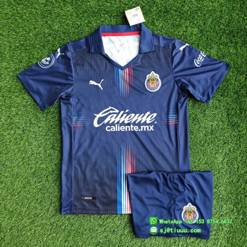 Chivas de Guadalajara 2021 Third Soccer Jersey and Short Kit