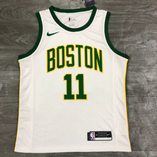 Thai Version Men's Kyrie Irving White Player Jersey - City Edition