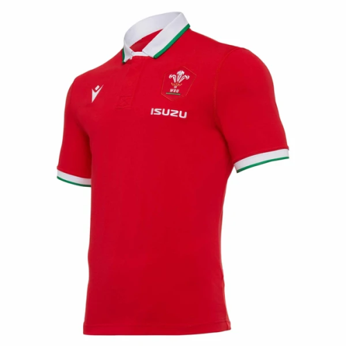 Wales 2021 Men's Home Classic Rugby Jersey