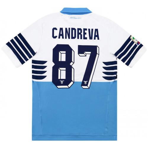 Lazio 2014-2015 Home 115 Years Retro Jersey Candreva