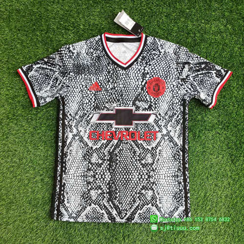 Manchester United 21/22 Pre-Match Jersey and Short Kit