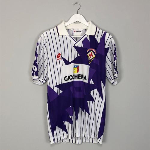 Fiorentina 1991-92 Away Retro Jersey