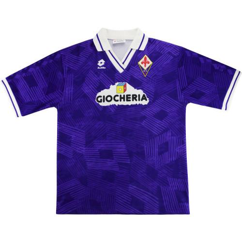 Fiorentina 1991-92 Home Retro Jersey