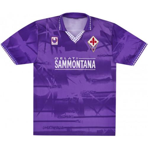 Fiorentina 1994-95 Home Retro Jersey #9 Batistuta
