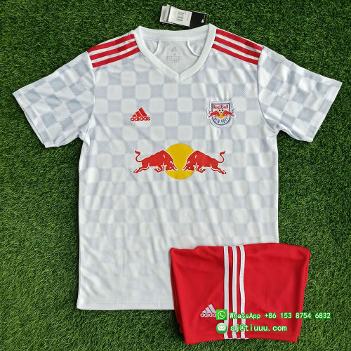 New York Red Bulls 2021 Home Soccer Jersey and Short Kit