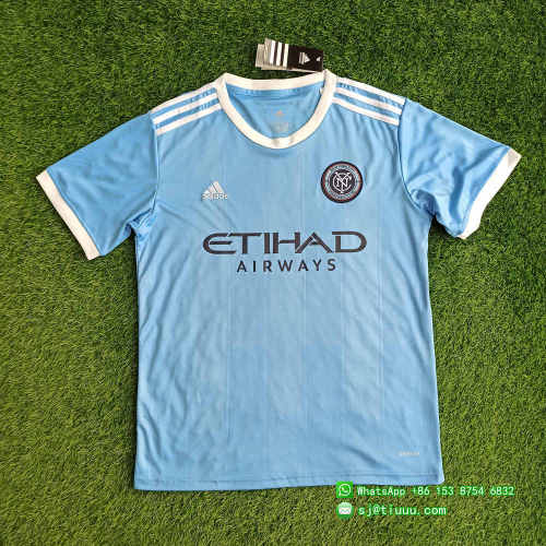 New York City 2021 Home Soccer Jersey and Short Kit