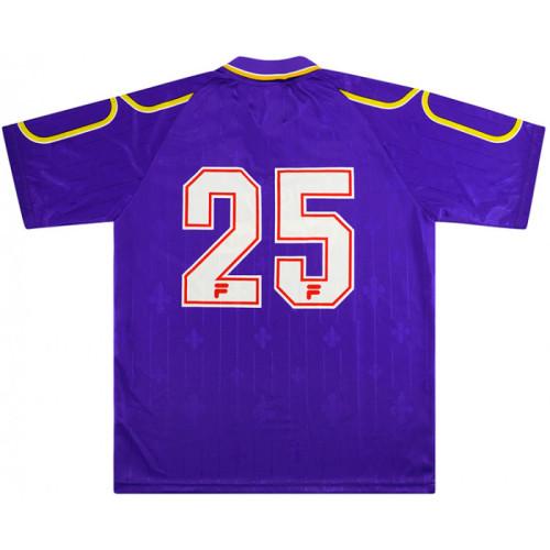 Fiorentina 1997-98 Home Retro Jersey #25 Oliveira