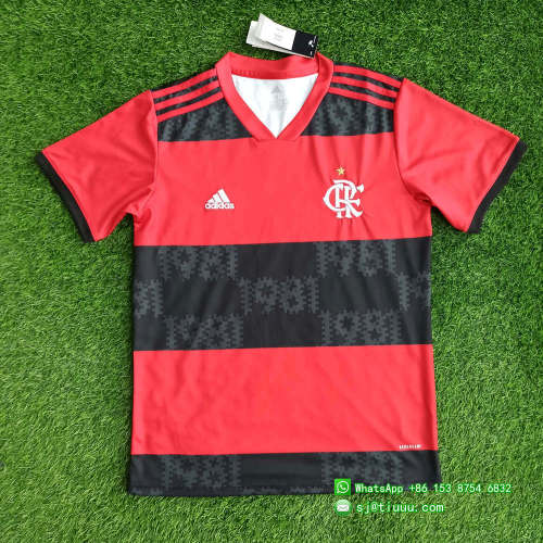 Flamengo 2021 Home Jersey and Short Kit