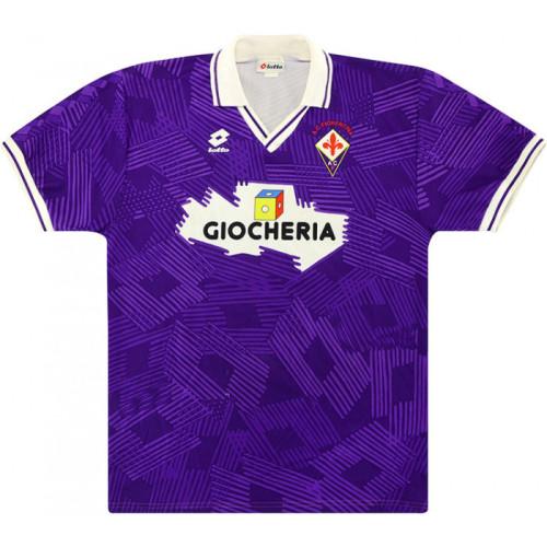 Fiorentina 1991-92 Home Retro Jersey #10 Orlando