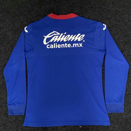 Thai Version Cruz Azul 20/21 LS Home Soccer Jersey