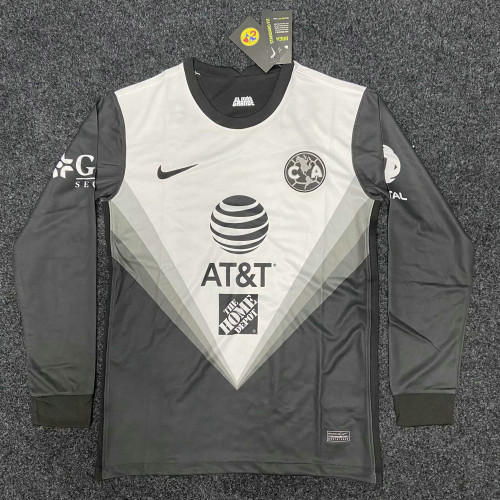 Thai Version Club America 20/21 LS Goalkeeper Soccer Jersey