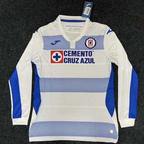 Thai Version Cruz Azul 20/21 LS Away Soccer Jersey