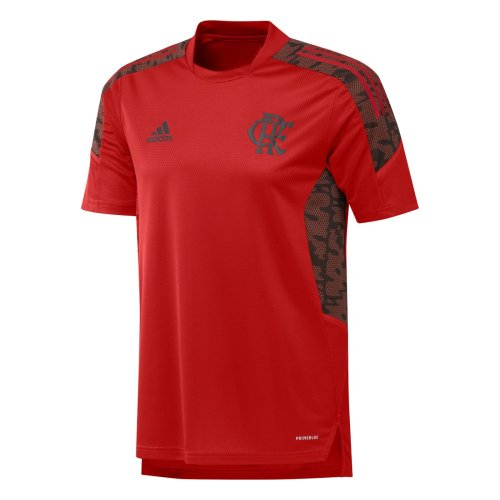 Flamengo 2021 Red Training Jersey and Short Kit