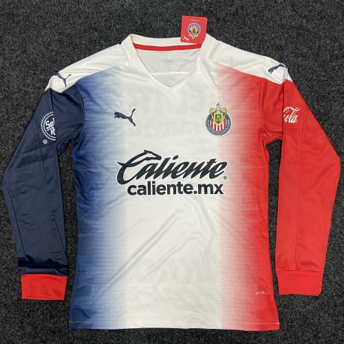 Thai Version Chivas de Guadalajara 20/21 LS Away Soccer Jersey