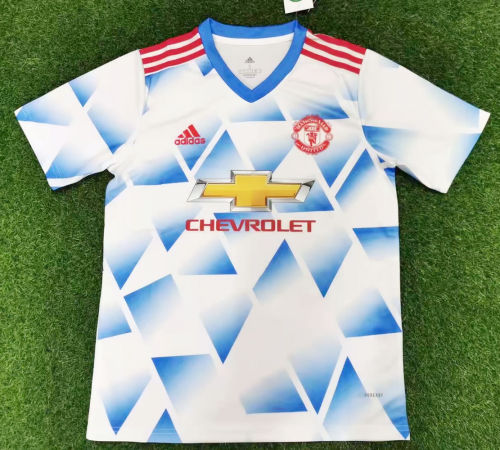 Thai Version Manchester United 21/22 Away Jersey - Leaked Edition